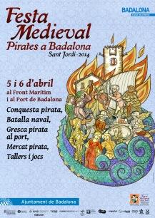 FESTA MEDIEVAL 2014 al Front Marítim